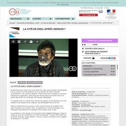 La Cité de Dieu, après-demain ? - Université de Bordeaux - SAM