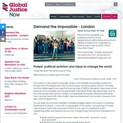 Demand the Impossible - London