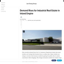 Industrial Real Estate In Inland Empire
