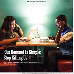 'Our Demand Is Simple: Stop Killing Us'