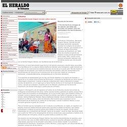 Demanda Bernanda Holguín rescatar cultura apache