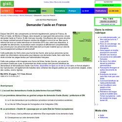Demander l'asile en France [Ouvrage]