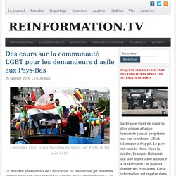 Des cours sur la communauté LGBT pour les demandeurs d'asile aux Pays-Bas