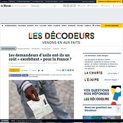 Les demandeurs d'asile ont-ils un coût « exorbitant » pour la France ?