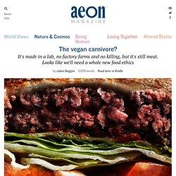 Lab-grown meat demands a new food ethics – Julian Baggini
