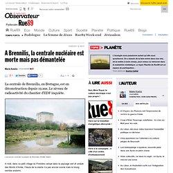 A Brennilis, la centrale nucléaire est morte mais pas démantelée