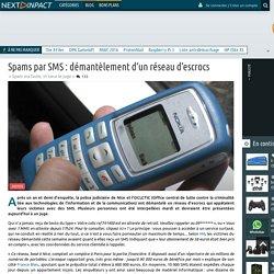 Spams par SMS : démantèlement d'un réseau d'escrocs