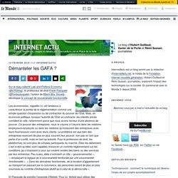 Démanteler les GAFA ? – InternetActu