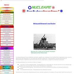 Demantlement Nucleaire