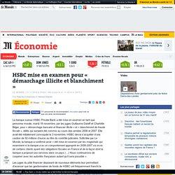 HSBC mise en examen - Le Monde 21/11/14