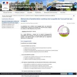 Démarche d'amélioration continue de la qualité de l'accueil - Préfecture Sarthe