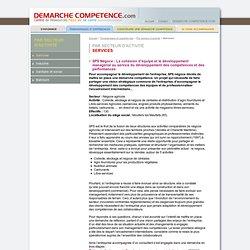Démarche compétence - Services