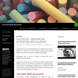 La D.A.D.D. : Démarche Active De Découverte - Le site de M. Belleville-Douelle