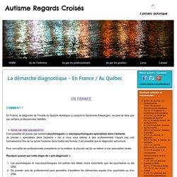 Démarche diagnostique de l'autisme