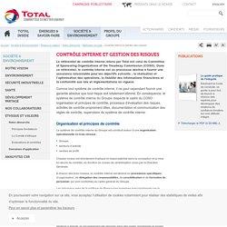 Démarche éthique : contrôle interne et gestion des risques