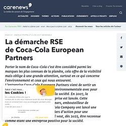 La démarche RSE deCoca-Cola European Partners