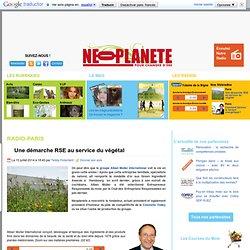 Une démarche RSE au service du végétal - Néoplanète