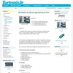 KIT Atelier (Workshop) de démarrage Zartronic V3 [E4N1P002] - 40,00€ : , Zartronic : Votre source Arduino en France