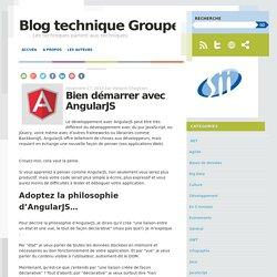 Bien démarrer avec AngularJS