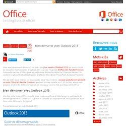 Bien démarrer avec Outlook 2013