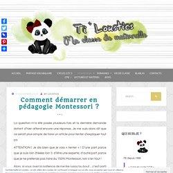 Comment démarrer en pédagogie Montessori ? - Ti'loustics Montessori