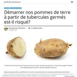 Démarrer nos pommes de terre à partir de tubercules germés est-il risqué?