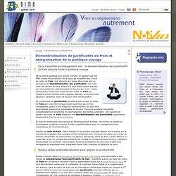 Dématérialisation justificatifs frais : Notilus, solutions et suite logicielle de dématérialisation des justificatifs de frais