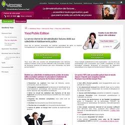 Public Edition, solution SaaS de dématérialisation factures et traitement automatique pour les collectivités et établissements publics