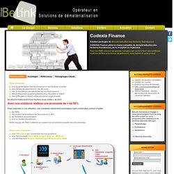 Dématérialisation de Documents - Dématérialisation de Factures - Groupe BELINK: Codexia Finance