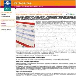 Dématérialisation et inclusion numérique, la nouvelle équation des Caf - lettre électronique Caf de la Vienne