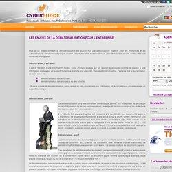 Les enjeux de la dématérialisation pour l'entreprise - Actualités TIC