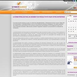 La dématérialisation, un gisement de productivité pour votre entreprise - Actualités TIC
