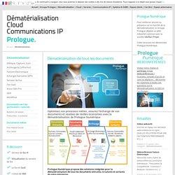 Dématérialisation - Groupe Prologue