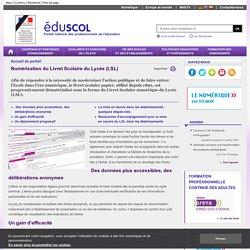 Accueil du portail - Dématérialisation du Livret scolaire