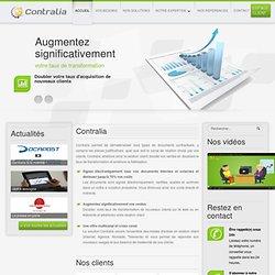 Contralia - contrats en ligne et pad électronique
