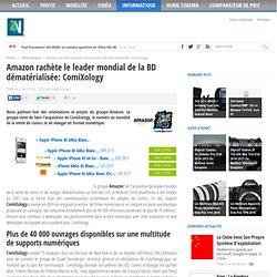 Amazon rachète le leader mondial de la BD dématérialisée: ComiXology