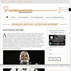 Démêler l'info de l'intox sur Internet