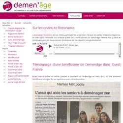 Demen-age.fr - Actualités