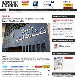 Les banques démentent un gel des transferts depuis l'Arabie saoudite