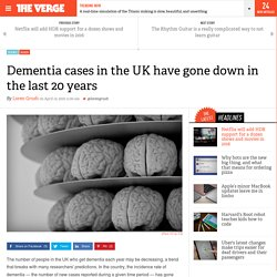 Dementia cases in the UK have gone down in the last 20 years