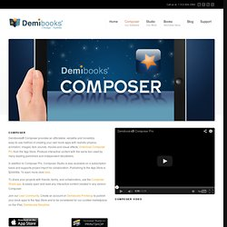 Composer | Demibooks Inc.