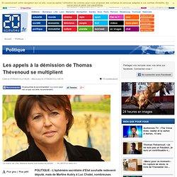 Les appels à la démission de Thomas Thévenoud se multiplient