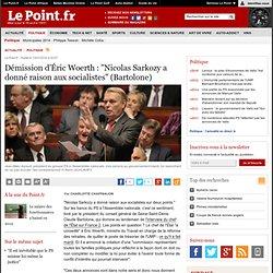 """ASSEMBLÉE NATIONALE : Démission d'Éric Woerth : """"Nicolas Sarkozy a donné raison aux socialistes"""" (Bartolone), actualité Politique : Le Point"""