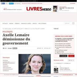 Axelle Lemaire démissionne du gouvernement
