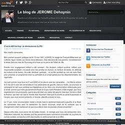 C'est le 49/3 de trop: Je démissionne du PS! - Le blog de JEROME Dehaynin