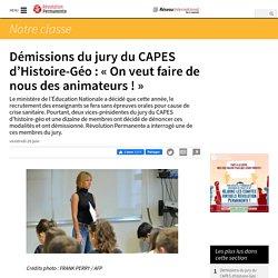 Démissions du jury du CAPES d'Histoire-Géo : « On veut faire de nous des animateurs ! »