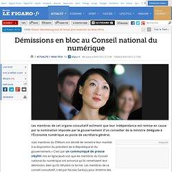 High-Tech : Démissions en bloc au Conseil national du numérique