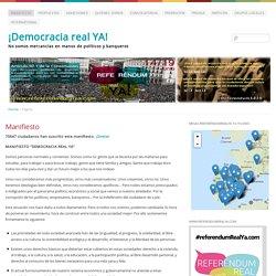 ¡Democracia real YA! - Europa para los ciudadanos y no para los mercados: No somos mercancía en manos de políticos y banqueros