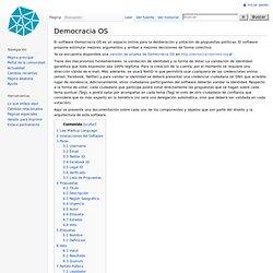 Democracia OS - Partido De La Red