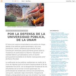 Democracia UNAM